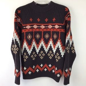 Vintage Woven Sweater Large (1558)
